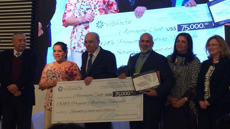 Alcatraz premio Vidanta